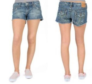 Danielle Daisy Duke Denim Shorts: Clothing