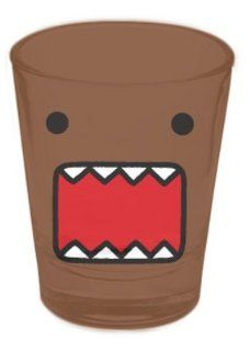 Domo Face Japanese Cartoon Animation Shot Glass: Kitchen & Dining
