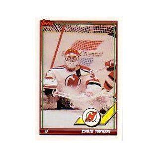 1991 92 Topps #422 Chris Terreri: Sports Collectibles