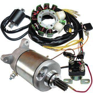 Stator POLARIS MAGNUM 425 4X4 1995 1996 1999 Starter Solenoid Ignition Coil ATV Automotive