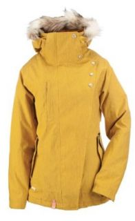 Planet Earth Women's Millie Insulated Jacket (Gold Rush,X Small): Clothing