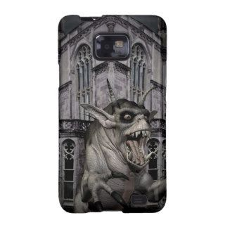 Halloween horror scary demon monster samsung galaxy s cover