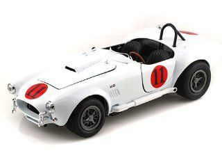 Elvis Presley Spinout 1965 Shelby Cobra 427 S/C #11 1/18 White Toys & Games