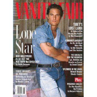Vanity Fair August 1996 N.432 (LONE STAR WHY HOLLYWOOD IS SO HOT FOR MATTHEW McCONAUGHEY): VANITY FAIR MAGAZINE, GRAYDON CARTER: Books