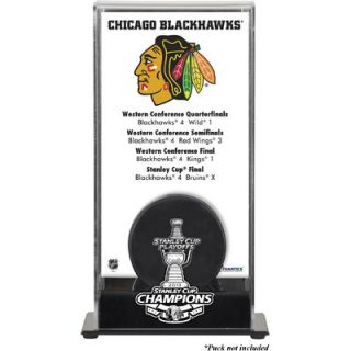 Mounted Memories NHL 2013 Stanley Cup Champions Logo Standard Puck