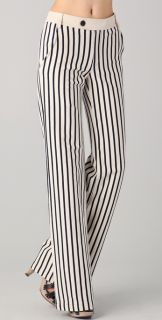 10 Crosby Derek Lam Wide Leg Striped Pants