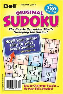 Dell Math Puzzles & Logic Problems Magazine   Books & Magazines   Magazines   Games & Puzzles