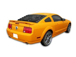 Mach Speed 22013 Ford Mustang Coupe ABS Rear Window Louver   2005 2012