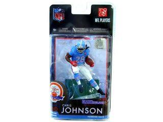 Mcfarlane NFL Exclusive Chris Johnson Houston Oilers Jersey