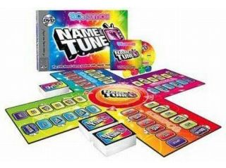 Name That Tune 80's Edition DVD Board Game with Music Video Clips