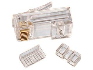 IDEAL 85 366 Cat 6 Modulator Plug, RJ45, 25PC