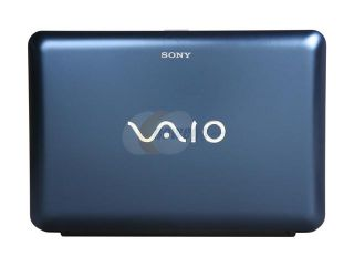 "SONY VAIO M Series VPCM121AX/L Blue Intel Atom N470(1.83GHz) 10.1"" 1GB Memory 250GB HDD Netbook"