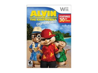 Alvin and the Chipmunks 3: Chipwrecked Wii Game MAJESCO