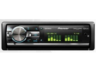 PIONEER DEH X9600BHS Flap Face CD Receiver with MIXTRAX, Built In Bluetooth for Handsfree Calling and Audio Streaming, HD Radio Tuner and SiriusXM Ready DEHX9600BHS