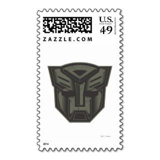 Autobot Cracked Symbol Postage Stamp