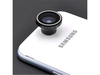 Detachable 180 Degree Fish Eye Fisheye Fish eye Conversion Camera Lens Mobile Magnet Mount for iPhone 4/4S 4G itouch HTC EVO 3D Nokia Lumia 920 820