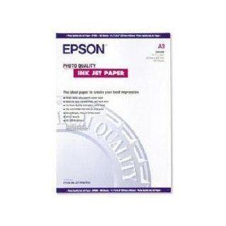 Epson Papier für Tintenstrahldrucker in Foto Qualität matt beschichtet A3 297 x 420 mm 102 g/m² 100 Blatt: Epson: Bürobedarf & Schreibwaren