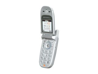 Motorola V220 Silver Unlocked GSM Flip Phone with MP3 Ringtone Support