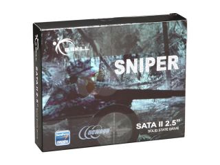 """G.SKILL Sniper Gaming Series FM 25S2S 120GBSR 2.5"""" 120GB SATA II MLC Internal Solid State Drive (SSD)"""