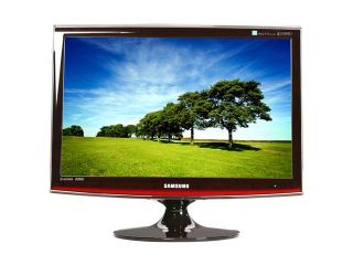 "SAMSUNG ToC T220HD Rose Black 22"" 5ms HDMI Widescreen HDTV Monitor 300 cd/m2 DC 10000:1 Built in DTV Tuner & Dolby Digital Surround Speakers"