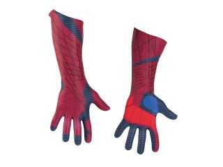 Deluxe Mens Spiderman Costume Gloves   Spiderman Costumes