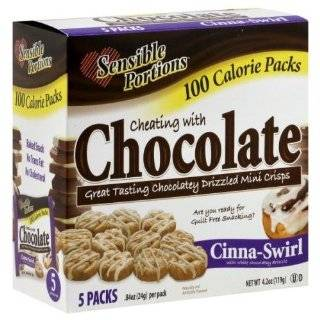 Sensible Portions 100 Calorie Packs Cheating with Chocolate Smores and