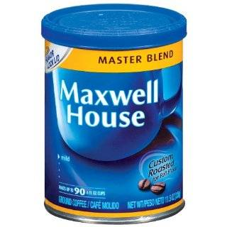 Maxwell House Master Blend Coffee   34.5 Oz. (Pack of 2) Home