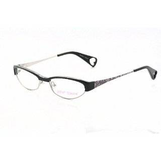 Betsey Johnson Cutie Pie BJ0112 Eyeglasses BJ 0112 Raven Frame