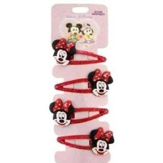 Minnie Mouse hair clips   4 pcs set
