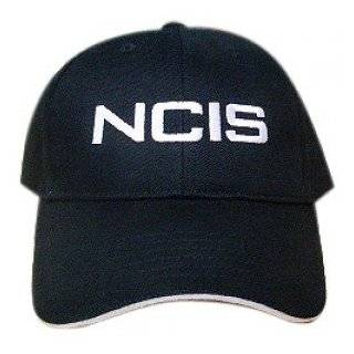 NCIS Special Agents Logo Black Cap Adjustable Hat
