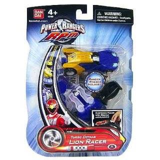 Power Rangers RPM Turbo Octane Zord Blue Lion Racer Toys ...